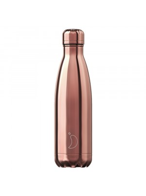 Chilly's 500ml Bottle Rose Gold