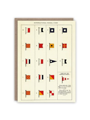 The Pattern Book International Signal Code Card