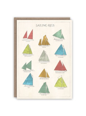 The Pattern Book Sailing Rigs Card