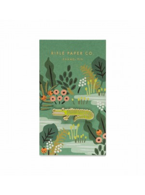 Rifle Paper Co. Alligator Enamel Pin