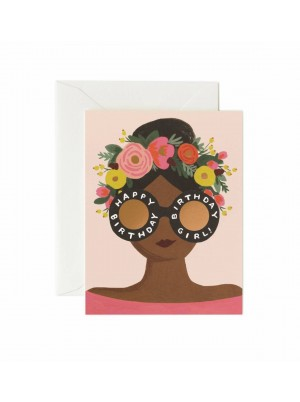 Rifle Paper Co. Flower Crown Birthday Card