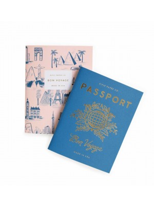 Rifle Paper Co. Pocket Notebook 2 pack Passport