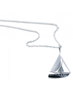 Reeves & Reeves Sail Boat Necklace