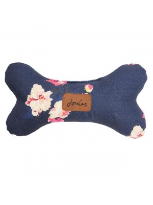 Joules Dog Navy Floral Bone