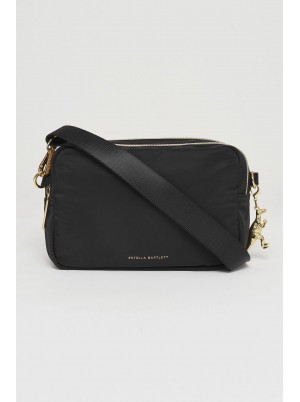 Estella Bartlett Double Cross Body Bag Black