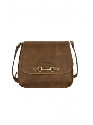 Dubarry Ballycroy Saddle Bag Brown