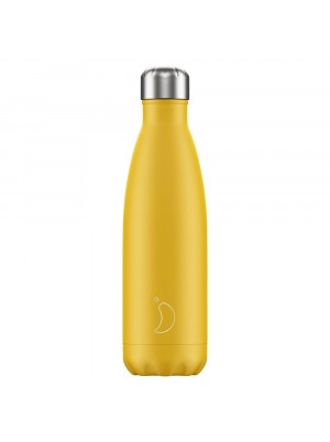 Chilly's 500ml Bottle Matte Burnt Yellow