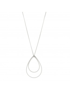 Pilgrim Roxy Necklace Silver Plated