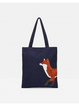 Joules Lulu Novelty Canvas Tote Bag