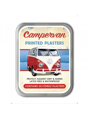 Campervan Plasters Tin