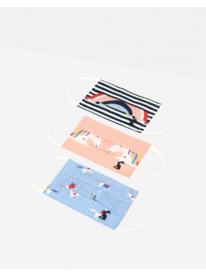 Joules Face Masks Childrens 3 Pack