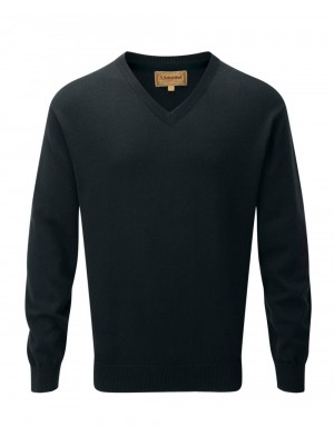 Schoffel Cotton Cashmere V Neck