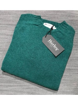 Harley Mens Rennie Crew Green