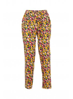 Weird Fish Tinto Printed Viscose Trousers